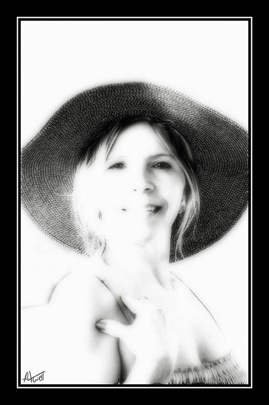 Portrait Art Print featuring the photograph Faded Photograph by Marilyn Atwell