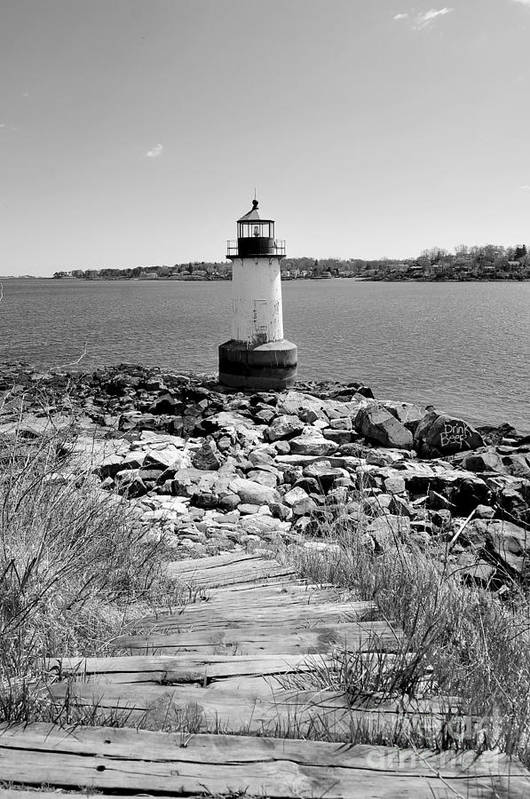 Salem Art Print featuring the photograph Fort Pickering Light by Catherine Reusch Daley