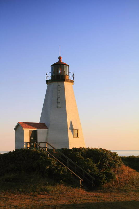Lighthouse Print featuring the photograph Gurnet Point Lighthouse by Roupen Baker