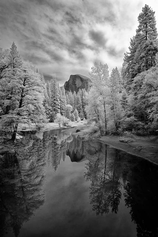 Vertical Print featuring the photograph Half Dome by LiorDrZ© Photography
