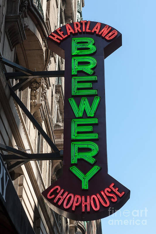 Clarence Holmes Art Print featuring the photograph Heartland Brewery Chophouse by Clarence Holmes