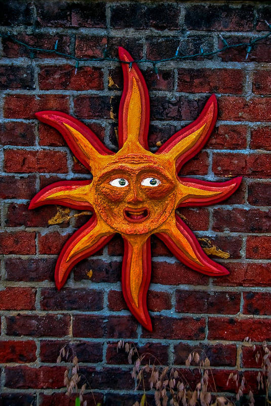 Sun Art Print featuring the photograph Here Comes The Sun by Gene Hilton