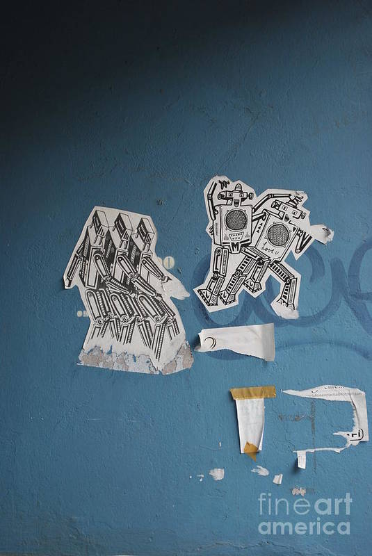 Robots Art Print featuring the photograph International Robots by Jen Bodendorfer