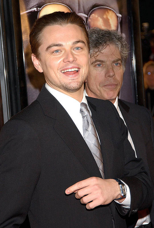 Art Print featuring the photograph Leonardo Dicaprio At The Premiere by Everett
