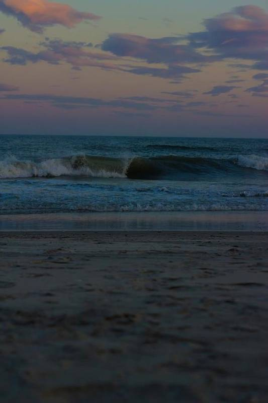 Art Print featuring the photograph Lovely Waves by Carolyn Valentin