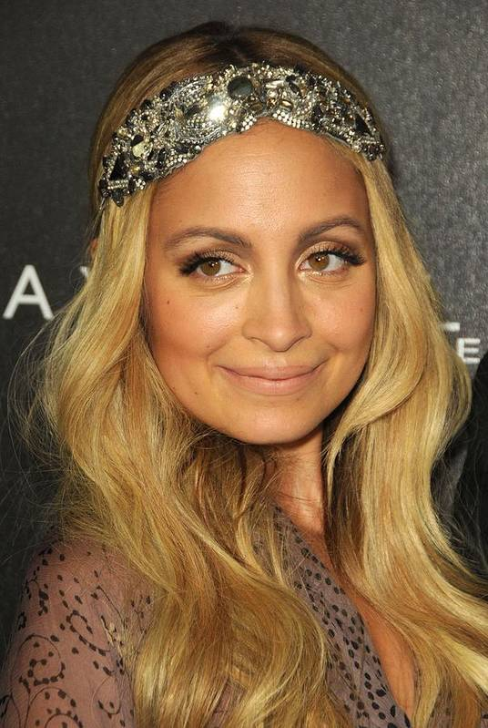 Nicole Richie Art Print featuring the photograph Nicole Richie At A Public Appearance by Everett