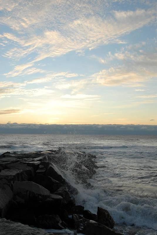 Seascape Art Art Print featuring the photograph Ocean 51 by Joyce StJames