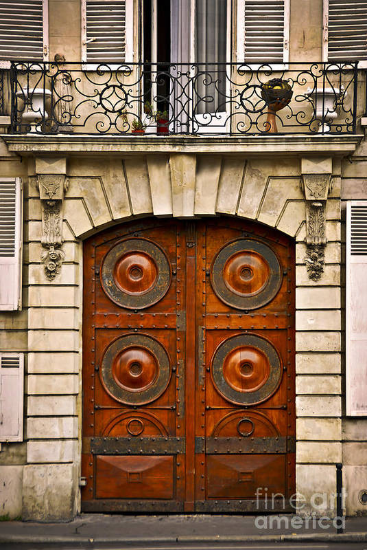 Door Art Print featuring the photograph Old Doors by Elena Elisseeva