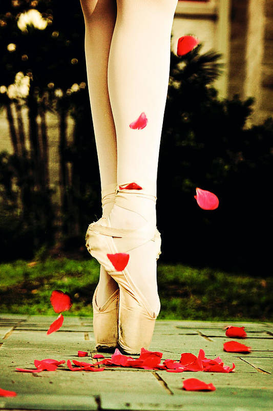 Ballet Art Print featuring the photograph On Point by Heather Arsement