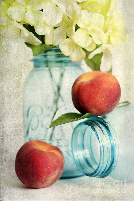 Agriculture Art Print featuring the photograph Peachy by Darren Fisher