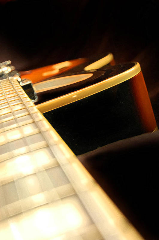 Guitar Art Print featuring the photograph Pick Up by Kristine Ellison