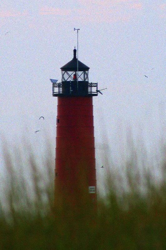 Lighthouse Art Print featuring the photograph Pierhead Lighthouse by Kay Novy