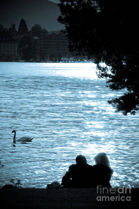 Romance Art Print featuring the photograph Precious Moments by Syed Aqueel