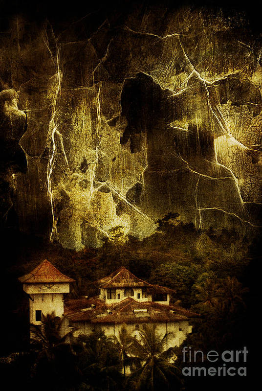 House Art Print featuring the photograph Premonitions by Andrew Paranavitana