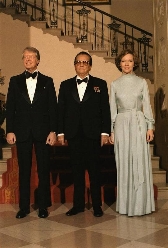 History Print featuring the photograph President And Rosalynn Carter by Everett