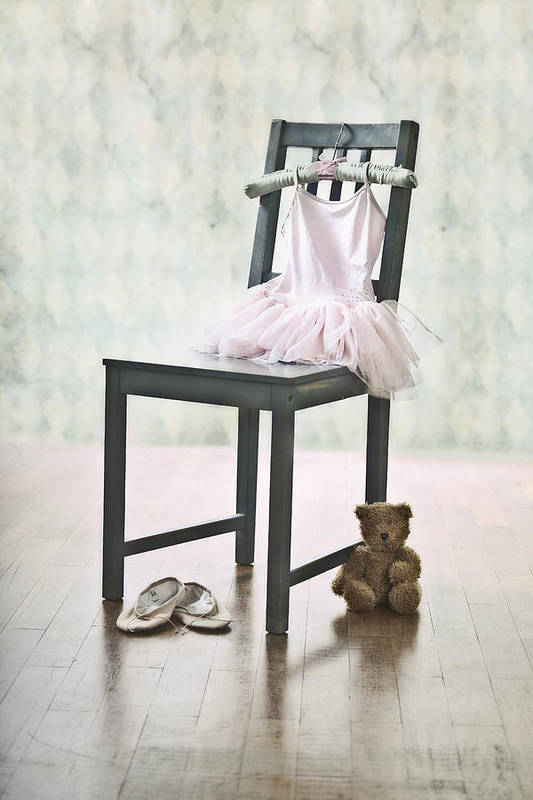 Tulle Art Print featuring the photograph Ready For Ballet Lessons by Joana Kruse