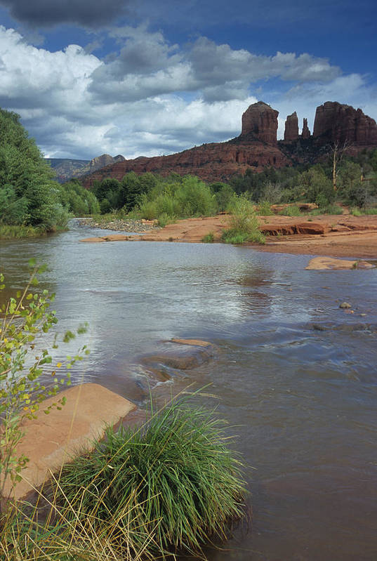 Outdoor Art Print featuring the photograph Red Rock Crossing In Sedona, Arizona by David Edwards
