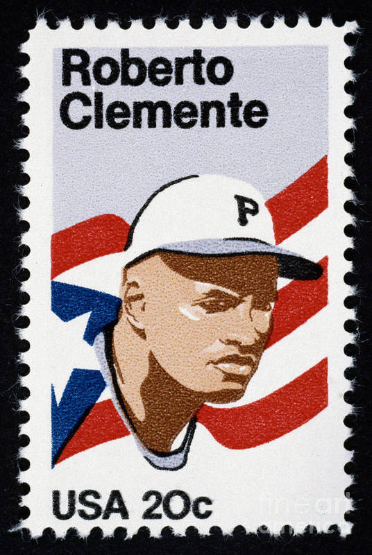 1984 Art Print featuring the photograph Roberto Clemente by Granger