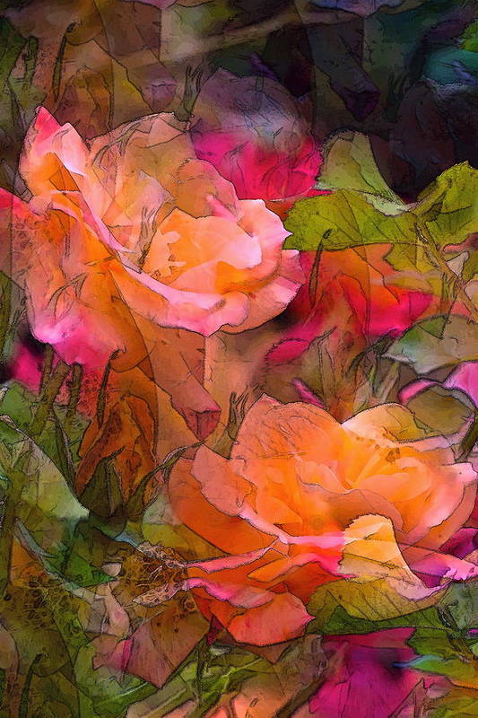 Floral Art Print featuring the photograph Rose 146 by Pamela Cooper
