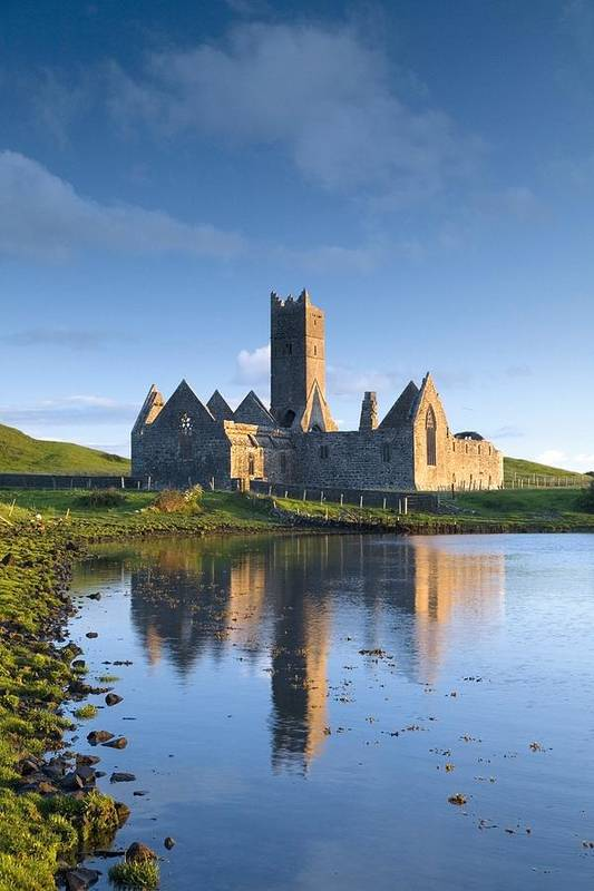 Day Print featuring the photograph Rosserk Friary, Co Mayo, Ireland 15th by Gareth McCormack