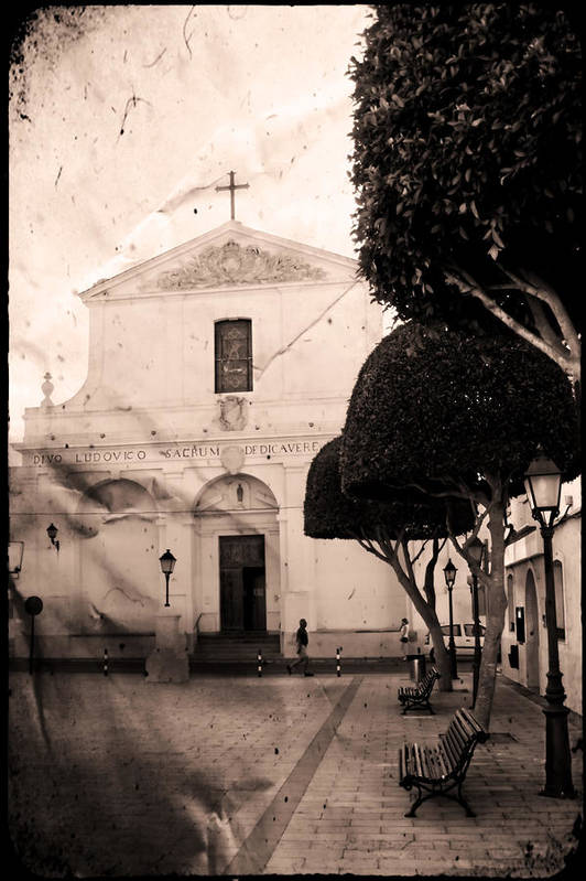 San Luis Art Print featuring the photograph San Luis by Pedro Cardona Llambias