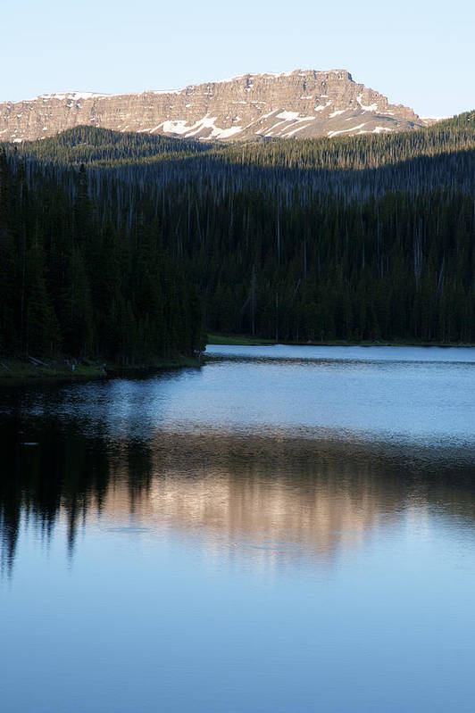 Hdr Art Print featuring the photograph Sheriff Lake Flat Tops Colorado by Al Reiner