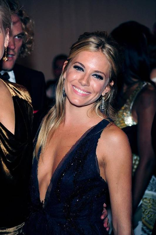 Sienna Miller Art Print featuring the photograph Sienna Miller At Arrivals For Part 2 - by Everett