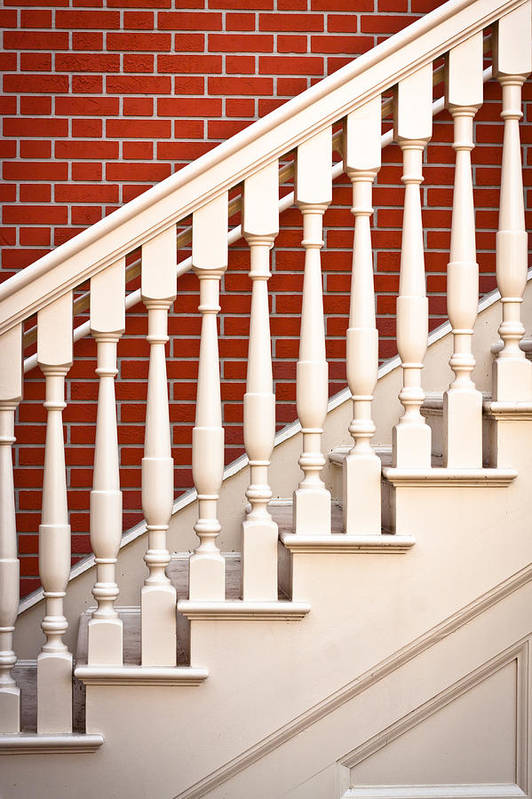 Architecture Art Print featuring the photograph Stair Case by Tom Gowanlock