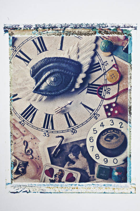 Stitch Art Print featuring the photograph Stitch In Time by Garry Gay