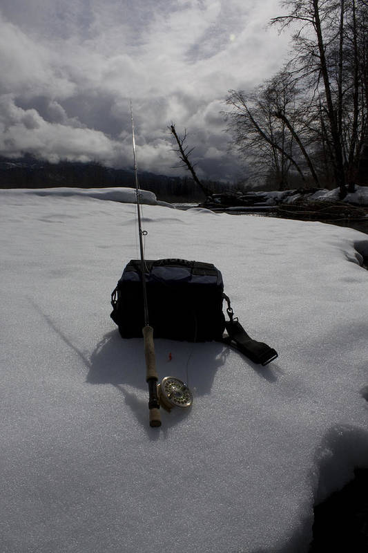 Fly Fishing Art Print featuring the photograph Storm Approaching by Mitch Drewes
