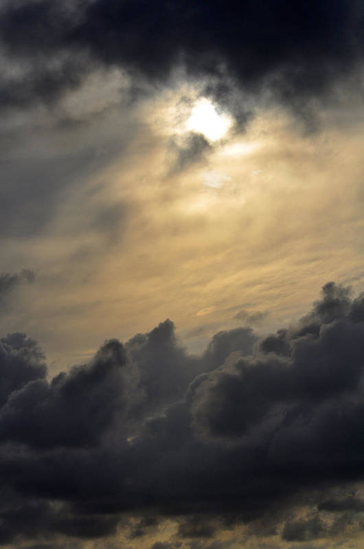 High Quality Art Print featuring the photograph Stormy Skies by Sarah McKoy