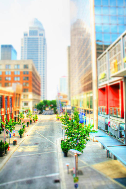 Architecture Art Print featuring the photograph Street's Of Louisville by Darren Fisher