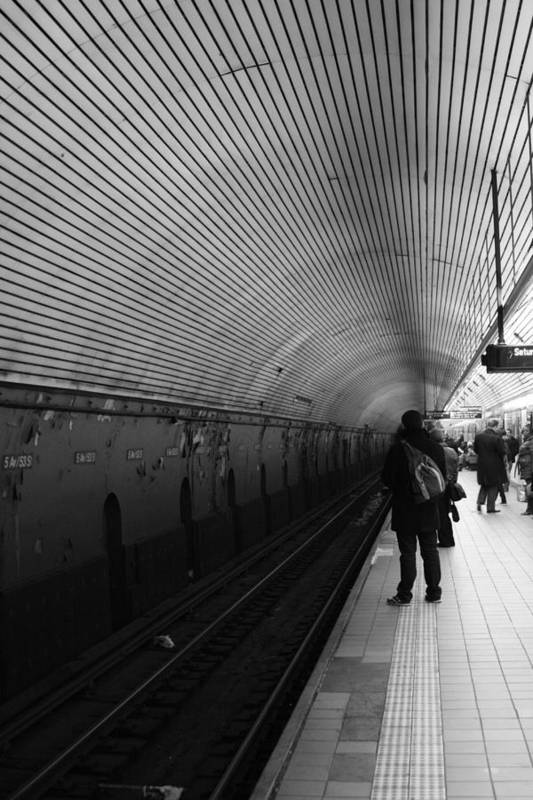 Subway Art Print featuring the photograph Subway by Elena Ingram