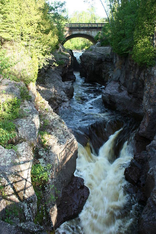 Art Print featuring the photograph Temperance River 3 by Joi Electa