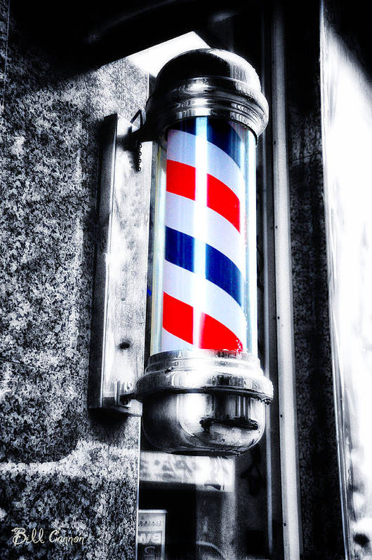The Barber Pole Art Print By Bill Cannon