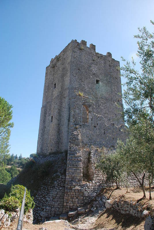 Tower Art Print featuring the photograph The Medieval Tower by Dany Lison