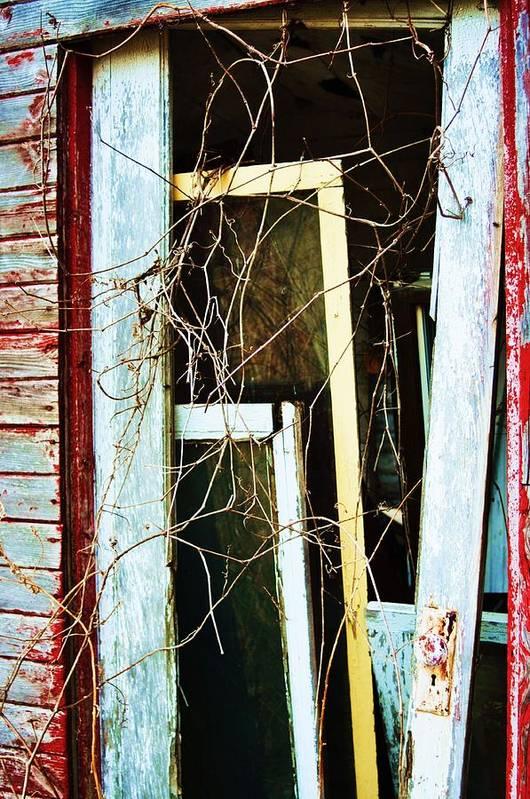 Yellow Door Art Print featuring the photograph Yellow Door by Todd Sherlock