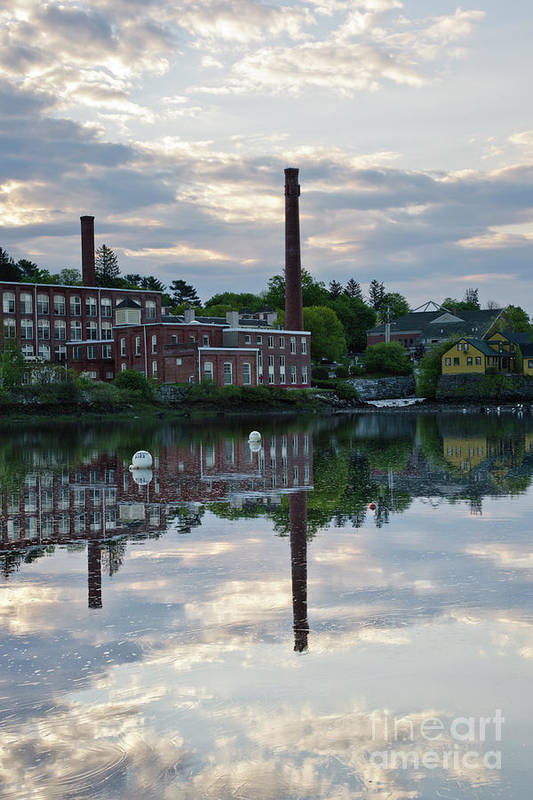Landscape Art Print featuring the photograph Exeter New Hampshire Usa by Erin Paul Donovan