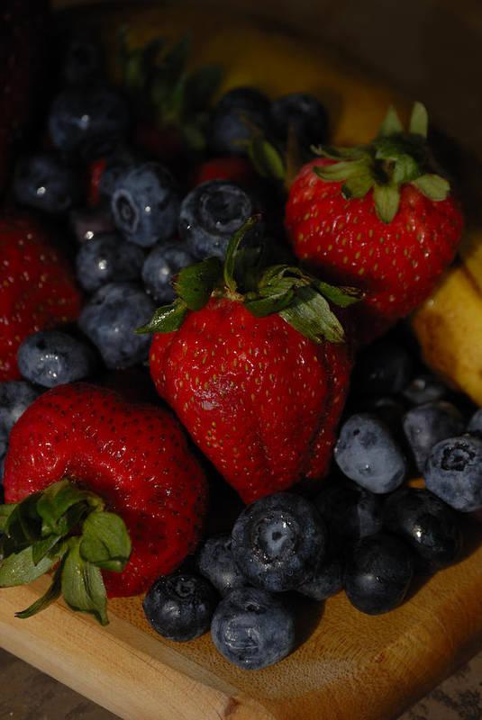 Fruit Art Print featuring the photograph Morning Fruit by Ed Zirkle