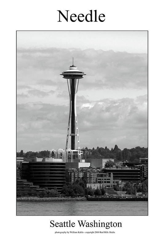 Seattle Photographs Art Print featuring the photograph Needle by William Jones