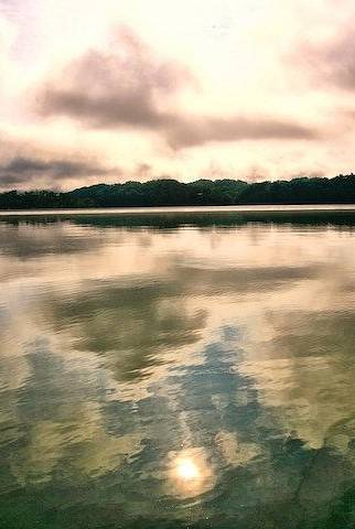 Landscape Art Print featuring the photograph Reflections by John Prickett