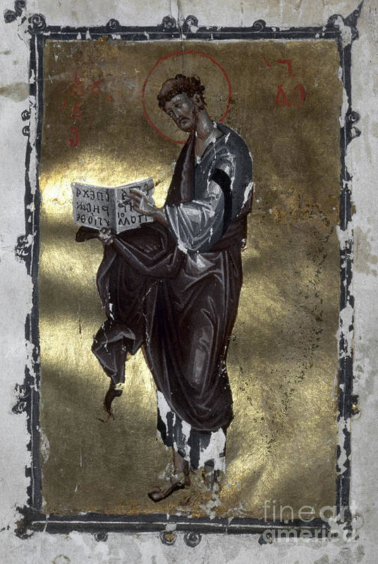 13th Century Art Print featuring the painting Saint Luke by Granger