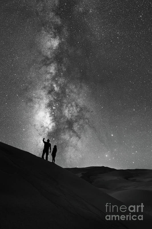 Star Crossed Lovers Art Print featuring the photograph Stargazers by Michael Ver Sprill