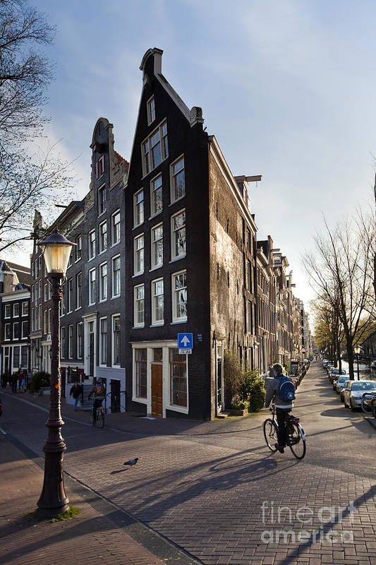 Age Art Print featuring the photograph Streets Of Amsterdam by Andre Goncalves