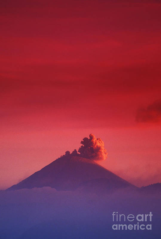 Active Art Print featuring the photograph Bromo Tengger Semeru by Gloria & Richard Maschmeyer - Printscapes