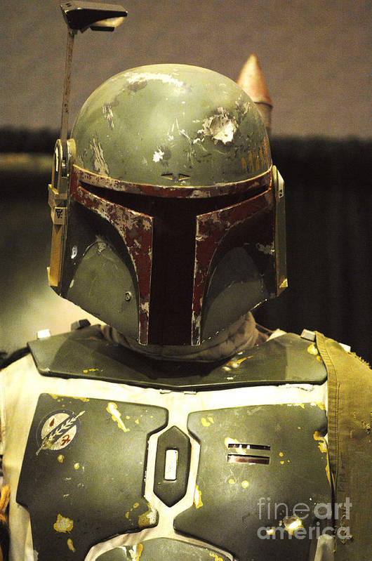 Boba Fett Art Print featuring the photograph The Real Boba Fett by Micah May