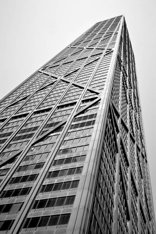 Geometric Art Print featuring the photograph 360 Chicago by Michelle Calkins