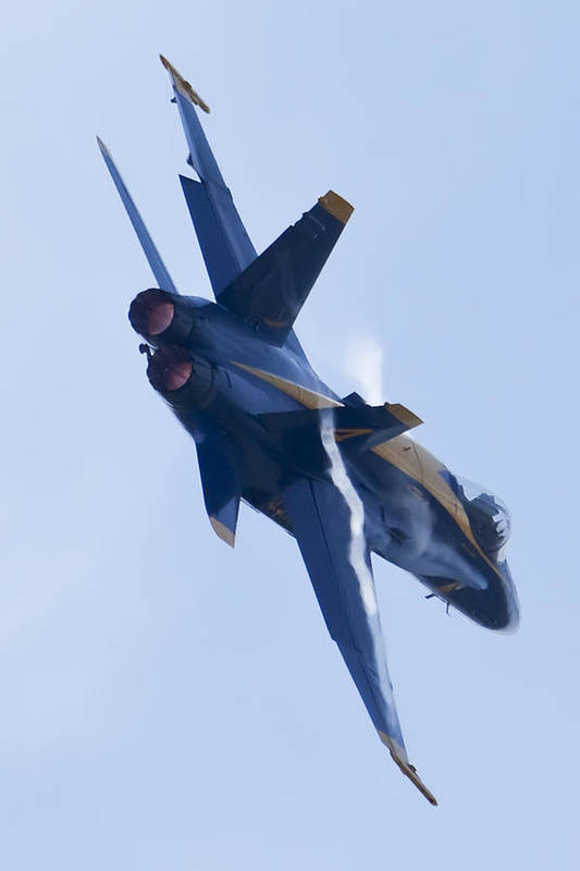 Us Navy Print featuring the photograph Us Navy Blue Angels Poster by Dustin K Ryan