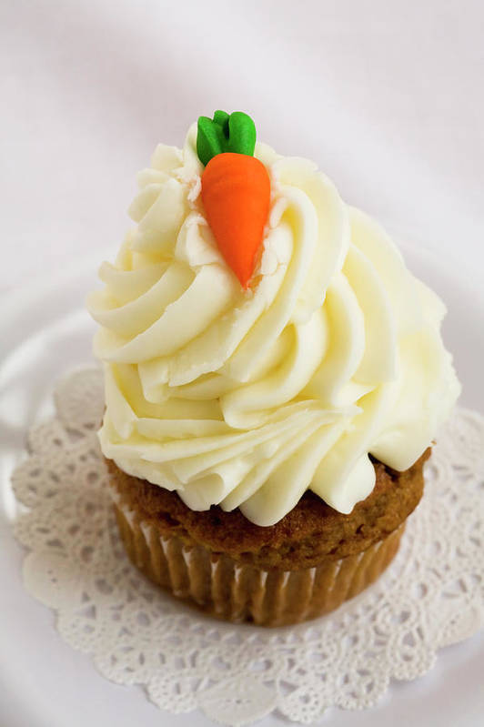 Carrot Muffin Art Print featuring the photograph A Carrot Muffin by Diane Macdonald
