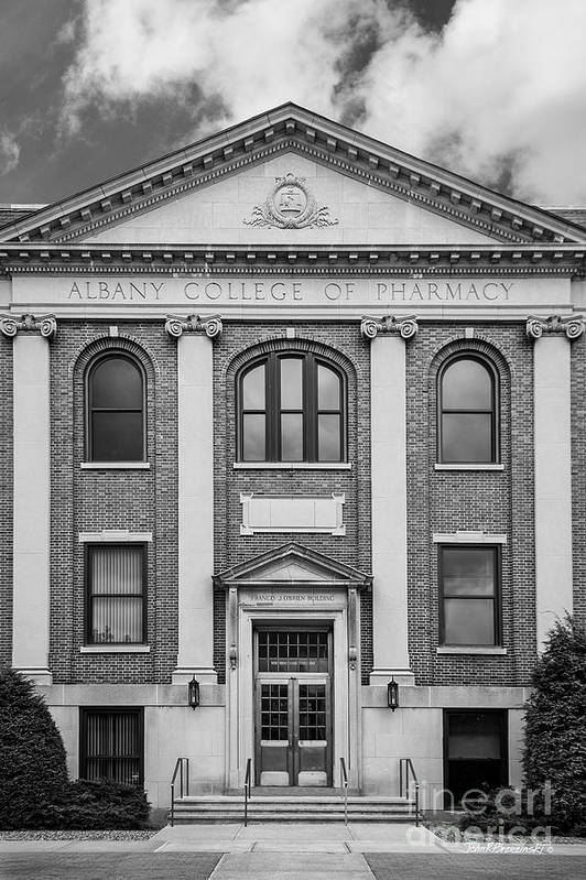 Albany Art Print featuring the photograph Albany College Of Pharmacy O' Brien Building by University Icons